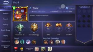 Level 30/hero 44/skin 25 tier epic