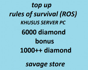 Top Up 6000 Diamonds