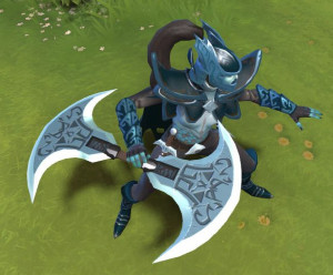 Exquisite Doubled Axe of the Veil (Phantom Assasin