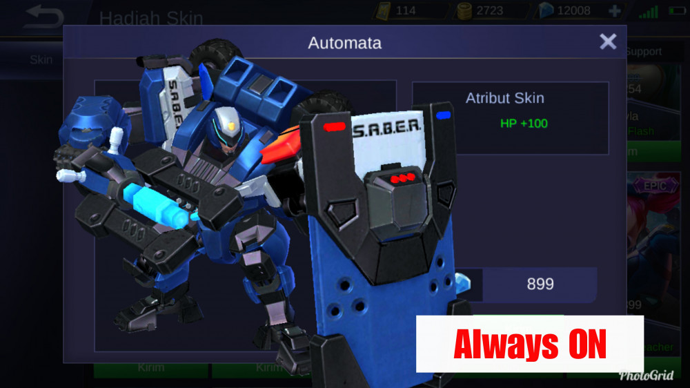 Automata (Epic Skin Johnson)