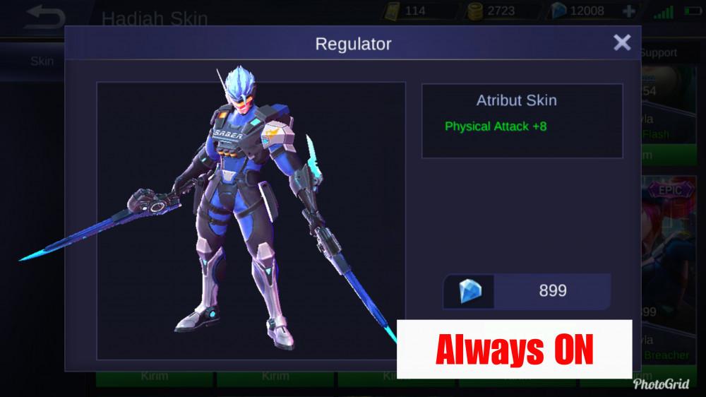 Regulator (Saber Epic Skin)