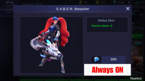 SABER Breacher (Epic Skin Layla)