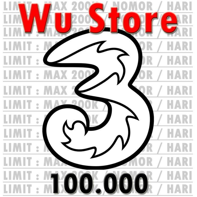 3 (Three) Transfer 100.000