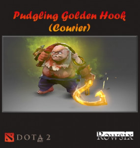 Pudgling Golden Hook (Courier)