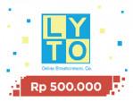 LytoCredit 500.000 - 163.000 Koin
