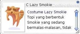 Costume Lazy Raccoon