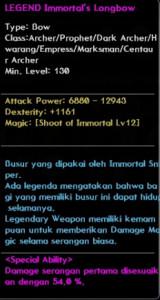 Immortal LongBow