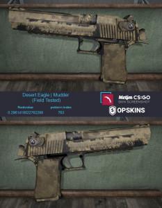 Desert Eagle | Mudder (Industrial Grade Pistol)