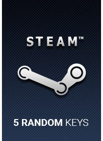 5 Steam Random Key