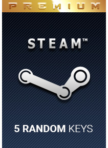 5 Random Premium Steam Key