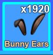 100 Bunny Ears [MINING SIMULATOR]