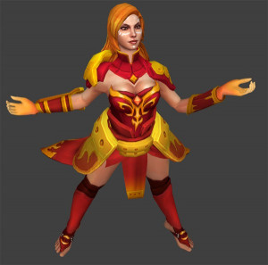 The Battle Caster (Lina Set)