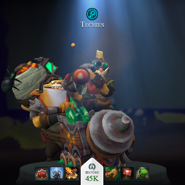 Primer of the Sapper's Guile (Techies Set)