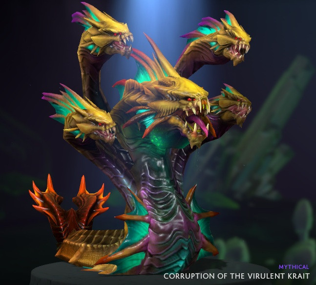 Corruption of the Virulent Krait (Venomancer)