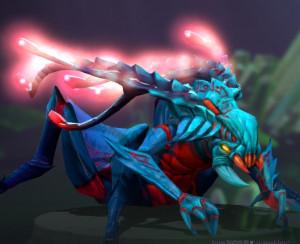 Crimson Cyrridae (Immortal TI7 Weaver)