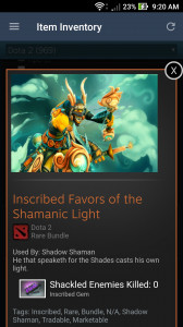 Inscribed Favors of the Shamanic Light (Shadow Shaman Set)