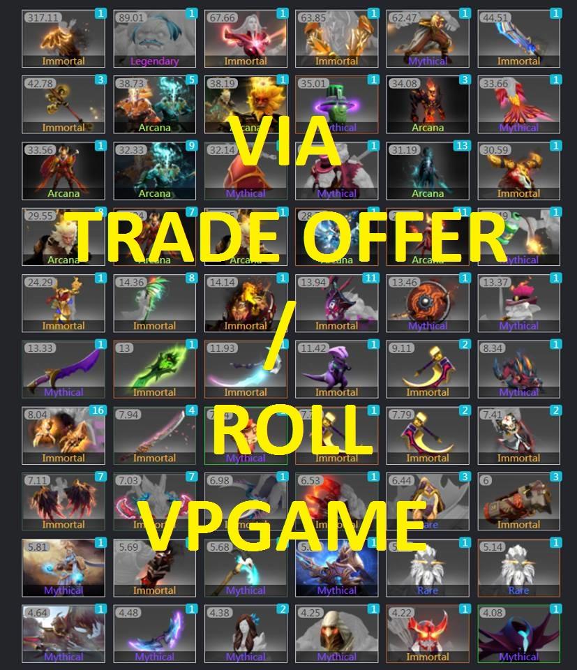 Item Vpgame Random Item (Per 1$)