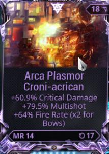 Arca Plasmor Riven Mod (PC)