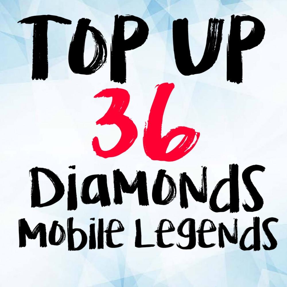 Jual 36 Diamonds Mobile Legends Dari Jun Shop Itemku Topup 220 Legend