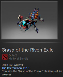 Grasp of the Riven Exile (Weaver)