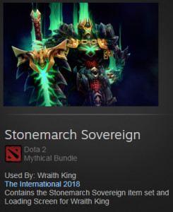 Stonemarch Sovereign (Wraith King)