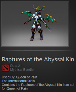 Raptures of the Abyssal Kin (Queen of Pain)