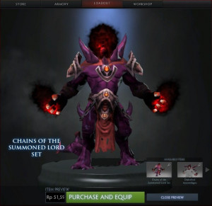 Chains of the Summoned Lord (Shadow Demon Set)