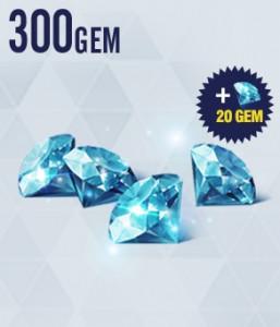 Top Up 300 Diamonds