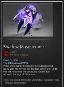 Shadow Masquerade (Immortal Rikimaru)