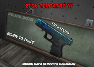 Glock-18 | Bunsen Burner (Mil-Spec Grade Pistol)
