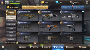 HOVER DRAGON LV4+EVIL M249 LV7+TI M4A1+VISION M4A1