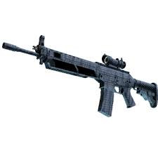 SG 553 | Waves Perforated (Consumer Grade Rifle)