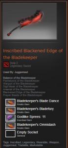 Blackened Edge of the Bladekeeper (Juggernaut)
