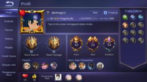 42 Hero + 23 Skin ( Rank Legend, ALLUNBIND )