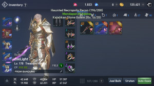 Harga pensi treasure Hunter lvl 170 ready for war