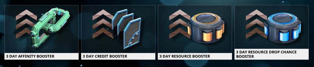 3 Days Booster (Pilih)