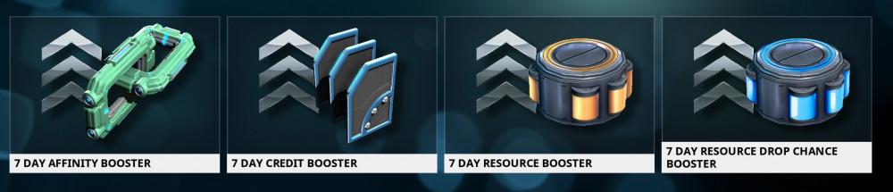 7 Days Booster (Pilih)