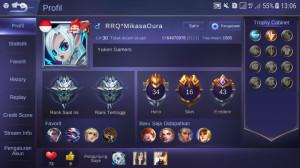 Lv 30 | Hero 34 | Skin 16 | Emblem 43 | YKN30