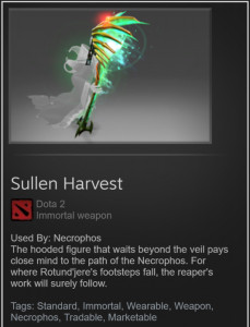 Sullen Harvest (Immortal TI7 Necrophos)