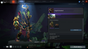 Dirgeful Overlord (Undying Set)