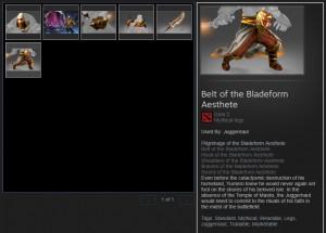 Pilgrimage of the Bladeform Aesthete (Juggernaut Set)