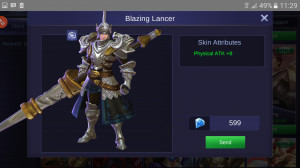 Blazing Lancer (Elite Skin Zilong)