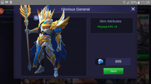 Glorious General (Epic Skin Zilong)