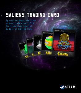 BORONGAN SALIEN STEAM TRADING CARD 100 SETS MURAH