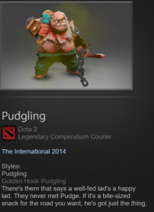 Golden Pudgling (Courier)
