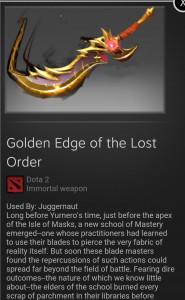 immortal ti8 golden juggernaut