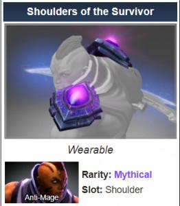 Shoulders of the Survivor (Anti-Mage)
