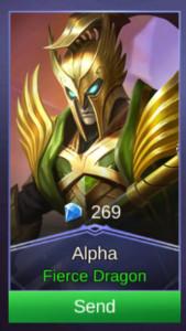 Fierce Dragon (Skin Alpha)