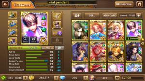 Sweet Cupid + Gold Odin + Gatotkaca + Dark Sierra