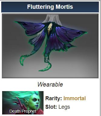 Inscribed Fluttering Mortis (Death Prophet)